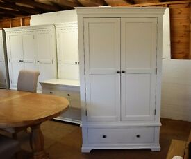 Chantilly White Double Wardrobe