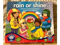 Orchard Toys Rain or Shine Weather Game. Ages 4-8. Complete And Good Condition.