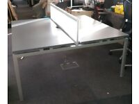 Bench Desk Back to Back 1600mm x 1600mm #088W
