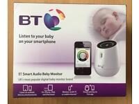 BT Smart Audio Baby Monitor