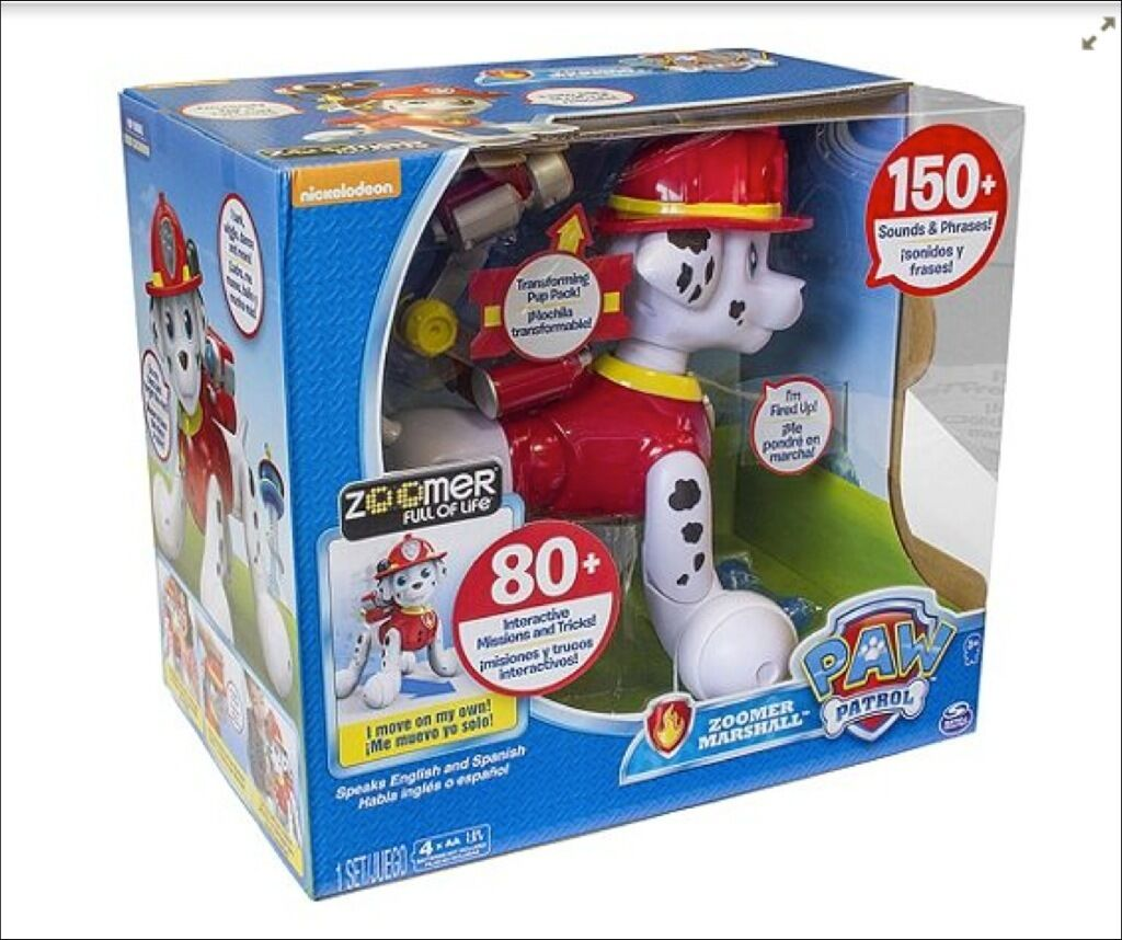 paw patrol zoomer marshall instructions
