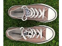 converse all star canvas trainers size 2 euro size 34