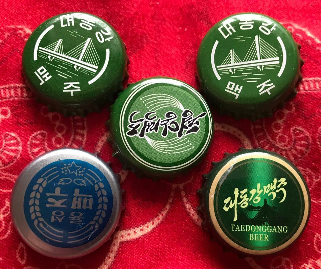 North Korea Beer Crown Caps Extremely Rare | in Macclesfield, Cheshire |  Gumtree