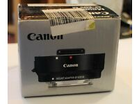 Canon Mount Adapter EF-EOS M / Original (new boxed never used )