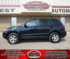 2009 Hyundai Santa Fe GLS 3.3L V6 AWD, HEATED LEATHER, SUNROOF,