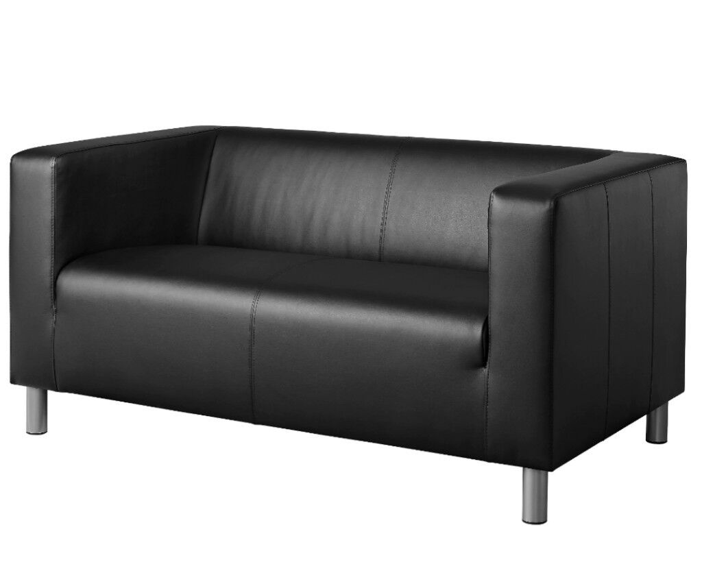 Bargain: brand new black leather sofa. Ad will be taken down when sold