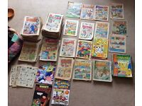BEANO, DANDY, WHIZZER & CHIPS, BUSTER, TOPPER, BATTLE ACTION FORCE, LOTS MORE OLD COLLECTABLE COMICS