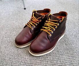 Timberland Brown Wedge Sole Chukka Boots 8.5