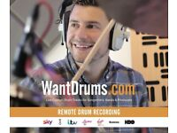 Pro Drummer Available for Your Recordings – Remotely
