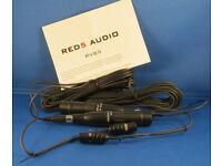 Pair of Red5 RV85 microphones - unused