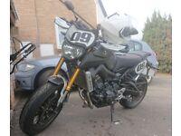 Yamaha MT09 sport tracker ABS