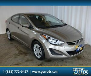 2016 Hyundai Elantra GL/HEATED SEATS/BLUETOOTH/SATELLITE RADIO