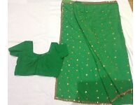 Sarees with blouses size 14-16