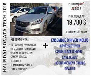 2016 Hyundai Sonata Sport Tech + NAVIGATION + CUIR