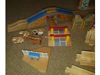 Brio Wooden Train Track Set