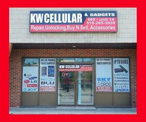 """Phone repairs, tablet repairs, and tons of protection gear. We've Got You """"Covered""""."""