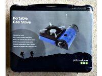 Yellowstone Mini Stove Compact Portable Camping Gas Single Burner