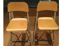 2 Ikea bar stools/ chairs