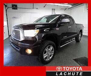 2010 Toyota Tundra LIMITED 5.7L 4X4  DOUBLE CAB GARANTIE 36 MOIS