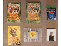 Nintendo N64 Donkey Kong (japanese version) + Memory Expansion Pak boxed