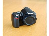 Nikon D40 camera body (faulty)