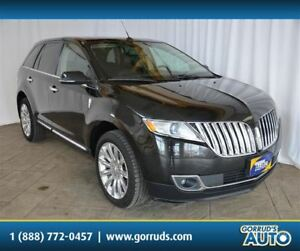 2014 Lincoln MKX AWD/PANO ROOF/CAMERA/BLUETOOTH/LEATHER/NAV