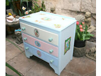 Wooden Chest of Drawers - Peter Rabbit & Friends - Nursery Furniture