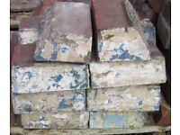 Reclaimed Red Large Plinth Stretcher Bricks