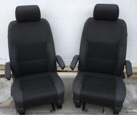VW T5 GP Caravelle Front Seats Team Pattern