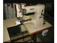 Pfaff 335 walking foot cylinder arm industrial sewing machine made in Germany
