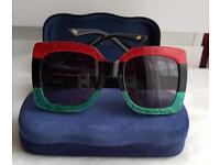 Gucci Square-Frame Acetate Sunglasses £175