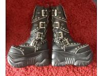Demonia Boots Size 6