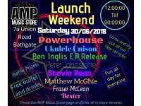 Amp Music Store Launch Weekend