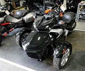 2016 can-am Spyder  F3 SM6 $53.85 /week (120 months@7.99%) + tx