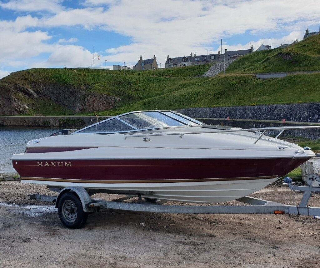 Maxum 1700 XC 120hp Cuddy Cabin Speed boat  not Bayliner , Searay , Regal ,  Fletcher   in Buckie, Moray   Gumtree