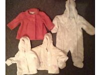 2 huge bags of 6-12 month little girls clothes