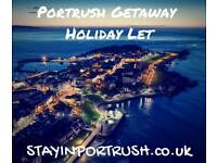 Portrush getaway holiday let