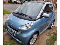 2011 Blue Smart Car Fortwo Coupe Semi Automatic