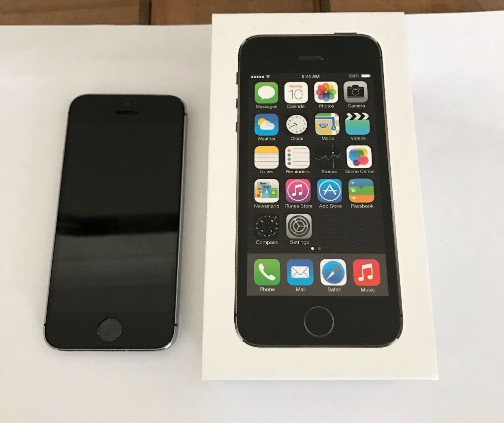 Apple IPhone 5S 16gb Black Silver O2 Network