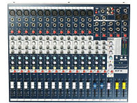 Soundcraft EFX12 Mixing Console with Lexicon MX400 Effects Processor ,new condition