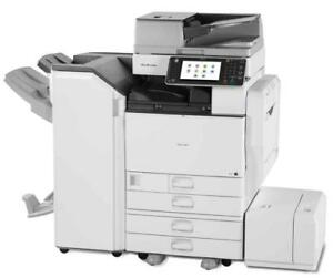 Only $0.0075/page All in Toner/Service Lowest Rate Ricoh Multifunction Copier/Printer/Scanner/Copy Machine/Photocopier