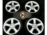 """17"""" Genuine Audi A4 alloys, perfect condition, matching premium tyres."""