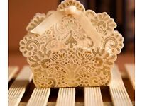 Ivory & gold favours