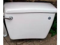 quality white Trent toilet and cistern
