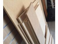 Job lot of MDF