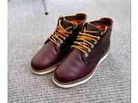 Timberland Brown Wedge Sole Chukka Boots