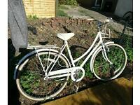 Raleigh caprice, liz pepperell special edition ladies bike, vintage