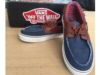 Vans Zapato Del Barco Denim UK9