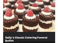 Sally's Classic Catering Funerals weddings BBQs Buffets Afternoon Tea