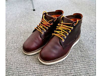 Timberland Brown Wedge Sole Chukka Boots Size 8.5 Great Condition